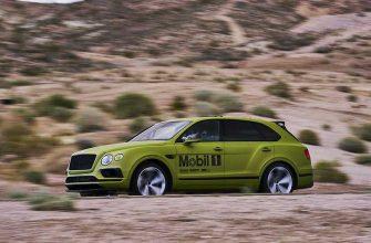 Bentley Bentayga готов поставить рекорд на Пайкс-Пик