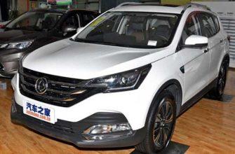 Dongfeng опубликовал фото обновленного AX7