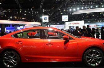 Названа дата начала продаж в России обновленной Mazda6
