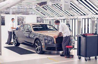 Bentley отказался от дальнейшего выпуска модели Mulsanne