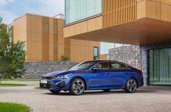 KIA начала продажи в России нового седана K5