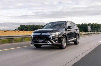 Объявлена дата российских продаж обновленного Mitsubishi Outlander