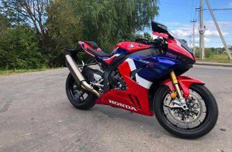 Огненное лезвие: тест-райд Honda CBR 1000RR-R Fireblade SP