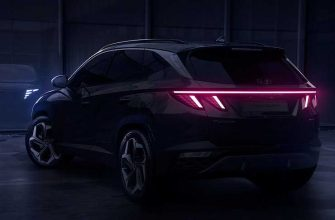 Опубликованы первые тизеры кроссовера Hyundai Tucson нового поколения