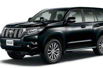 Японцы опять обновили Toyota Land Cruiser Prado